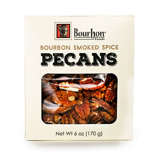 Bourbon Barrel Smoked Pecans, 6 oz (170 g)