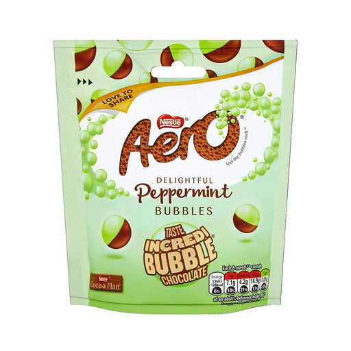 Nestle Aero Bubbles Peppermint Chocolate, 3.6 oz (102 g)