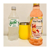 Sugar Free Meyer Lemon Raspberry Syrup by Jordan's Skinny Mixes, 25.4 fl oz (750 ml)
