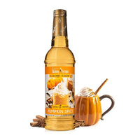 Sugar Free Pumpkin Spice Syrup by Jordan's Skinny Mixes, 25.4 fl oz (750 ml)