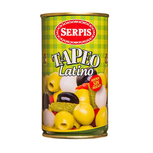 Serpis Mixed Olives and Pickles Tapeo Latino, 12.3 oz (350 g)