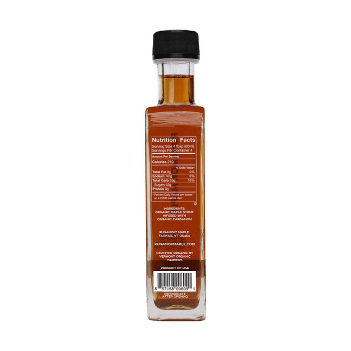 Runamok Maple Cardamom Infused Maple Syrup, 8.45 fl (250 g)