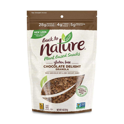 Back to Nature Gluten Free Chocolate Delight Granola, 11 oz (311 g)