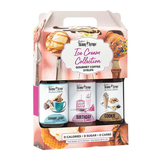 Ice Cream Collection Trio by Jordan's Skinny Mixes, 12.7 fl oz (376 ml)