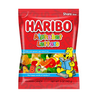 Haribo Alphabet Letters Gummy Candy, 5 oz (142 g)