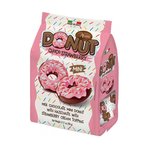 Messori Italian Donuts, Strawberry, 3.2 oz (90 g)