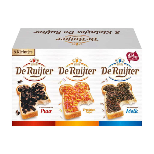 De Ruijter Assorted Chocolate Sprinkles, 4.9 oz (139 g)