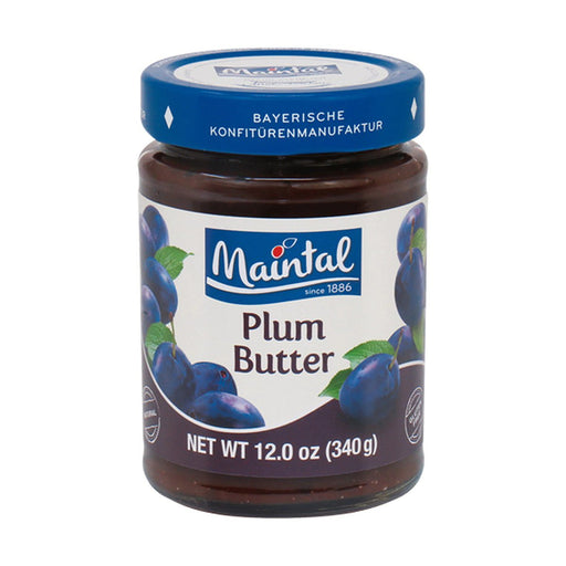 Maintal Bavarian Plum Butter Spread, 12 oz (340 g)