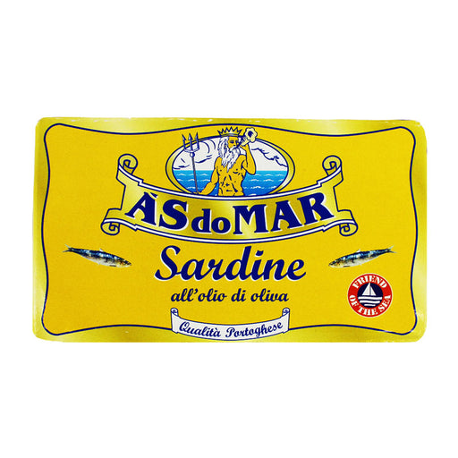 AS do Mar Sardines in Olive Oil, 4.23 oz (120g)