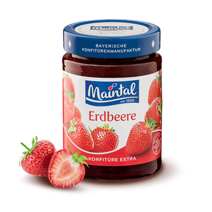 Maintal Strawberry Jam, 12 oz (340 g)