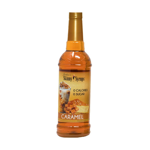 Sugar Free Caramel Syrup by Jordan's Skinny Mixes, 25.4 fl oz (750 ml)