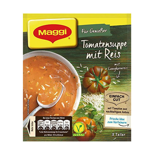 Maggi Tomato Soup with Rice Mix, 2.8 oz (80 g)