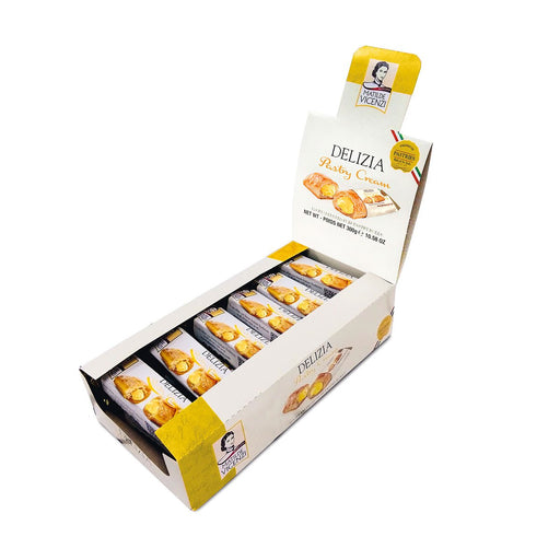 Matilde Vicenzi Puff Pastry Delizia with Cream, 12 x 0.9 oz (25 g)