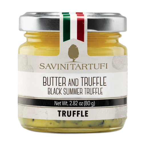 Savini Tartufi Butter with Black Summer Truffle, 2.8 oz (80 g)
