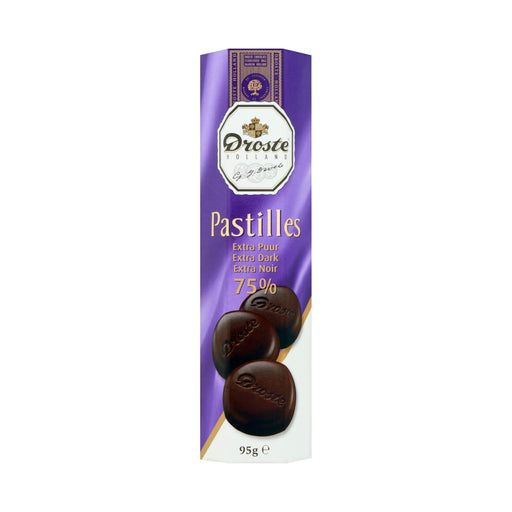 Droste Extra Dark Chocolate Pastilles, 3 oz (86 g)