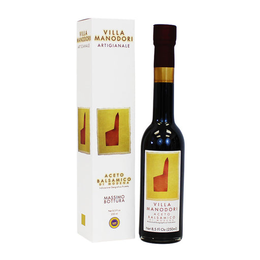 Villa Manodori Artigianale Balsamic Vinegar, 8.5 fl oz (250 ml)