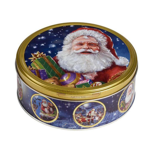 Jacobsens Danish Butter Cookies in Santa Christmas Tin, 5.3 oz (150 g)