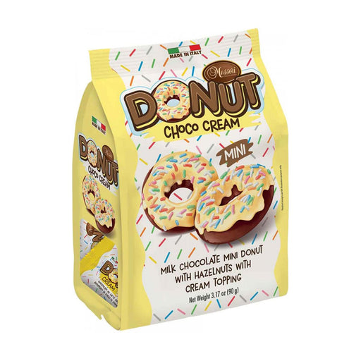 Messori Italian Donuts, Chocolate Cream, 3.2 oz (90 g)