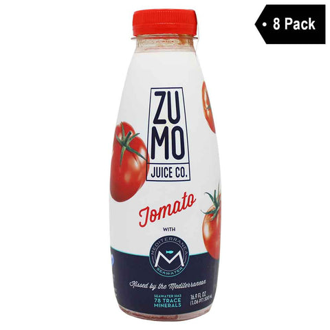 ZUMO Tomato Juice, made With Mediterranea Seawater (16.9 oz. x 8)