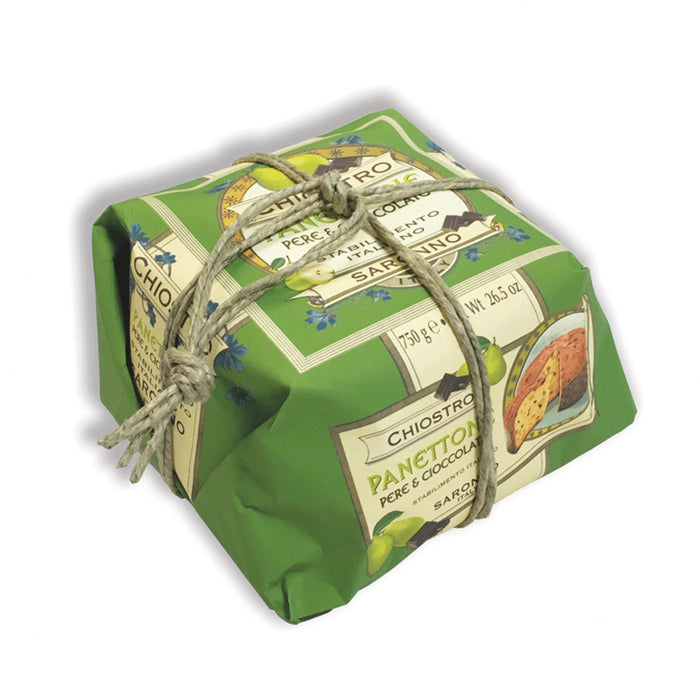 Chiostro di Saronno Panettone with Pear and Chocolate, 26.5 oz (750 g)