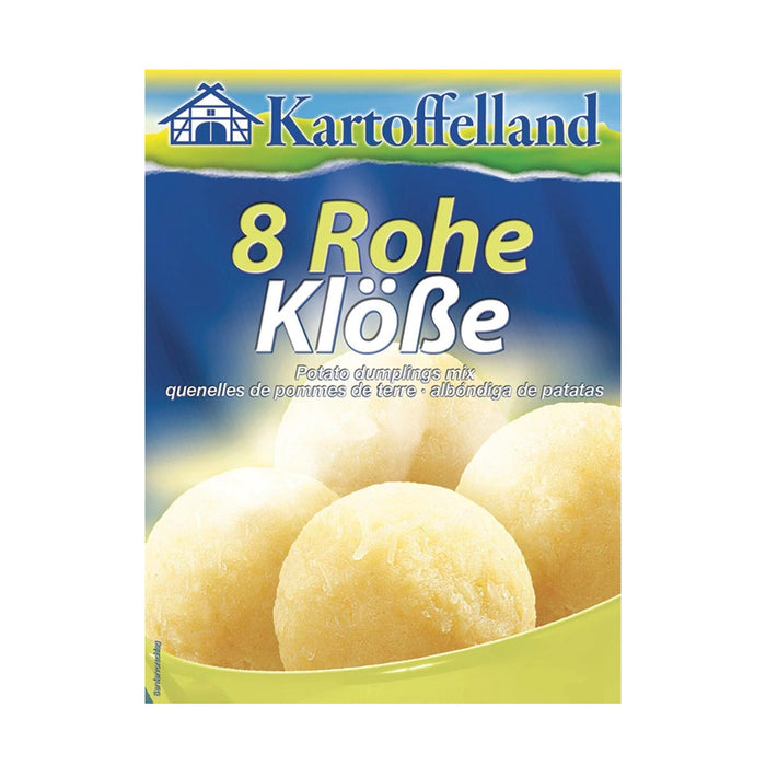 Kartoffelland 8 Raw Potato Dumplings, 8 oz (227 g)