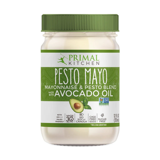 Primal Kitchen Pesto Mayo with Avocado Oil, 12 fl oz (355 ml)