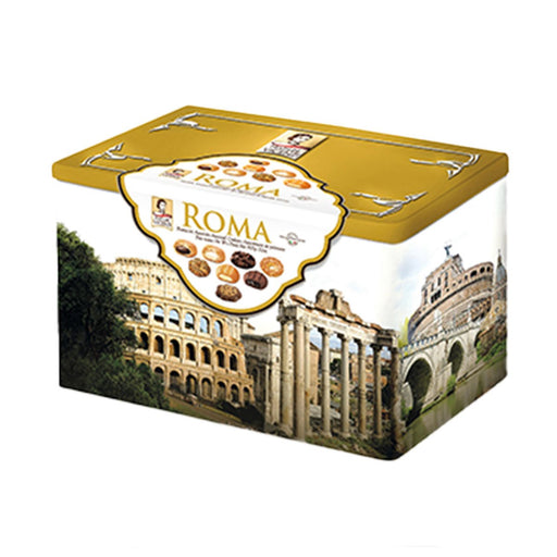 Matilde Vicenzi Italian Pastry Assortment in Roma Gift Tin, 1.9 lb (907 g)