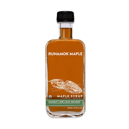 Runamok Maple Makrut Lime-Leaf Infused Maple Syrup, 8.45 fl (250 g)