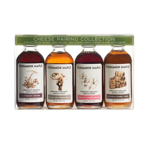 Runamok Maple Organic Cheese Maple Syrup Pairing Collections, 2 fl (60 g)