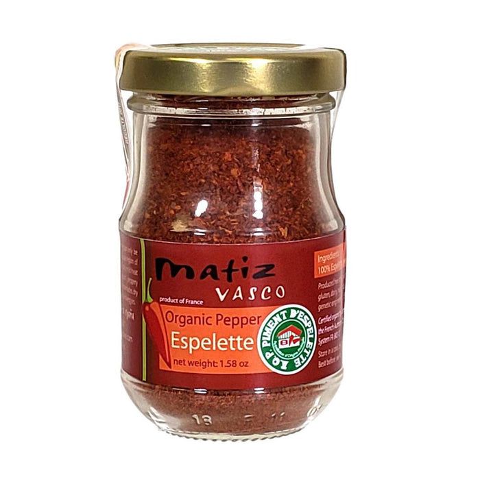 Matiz Organic Piment d'Espelette Basque Pepper, 1.6 oz (45 g)