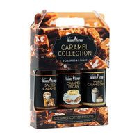 Caramel Collection Syrup Trio by Jordan's Skinny Mixes, 12.7 fl oz (376 ml)
