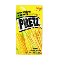 Glico Sweet Corn Pretz Sticks, 1.1 oz (31.1845 g)