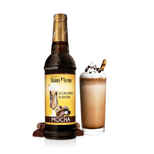 Sugar Free Mocha Syrup by Jordan's Skinny Mixes, 25.4 fl oz (750 ml)