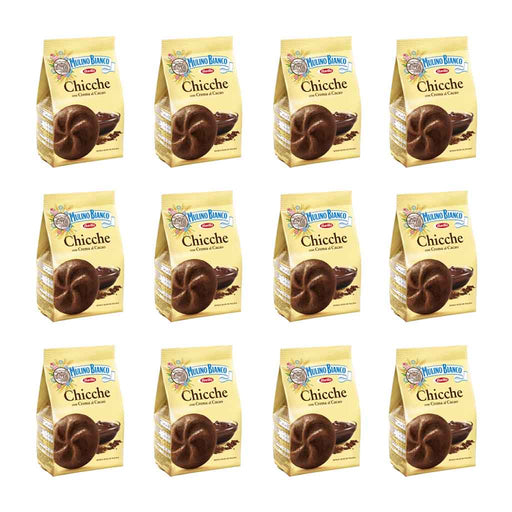 10-Pack Mulino Bianco Chicche Cacao Cookies