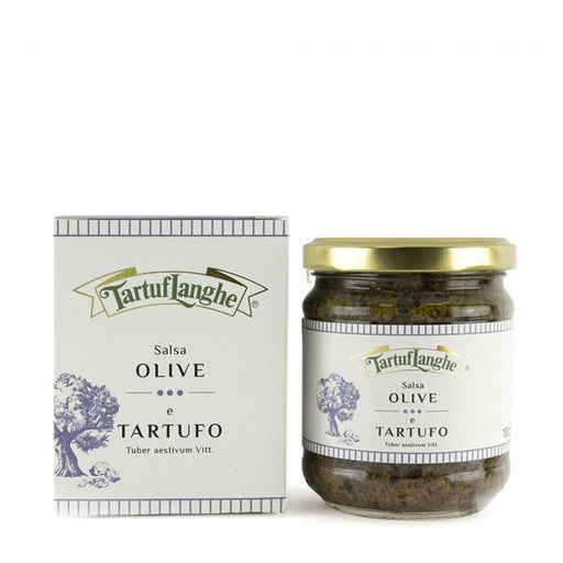Tartuflanghe Olive and Truffle Salsa, Large, 6.4 oz (180 g)