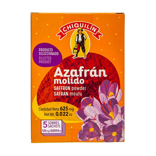 Chiquilin Ground Saffron, 0.02 oz (625 mg)