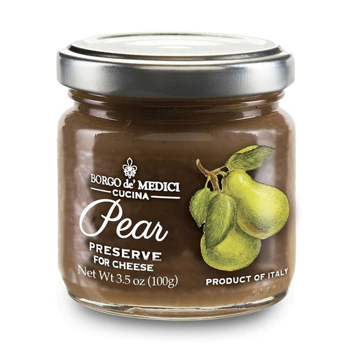 Borgo de Medici Pear Preserve for Cheese, 7.8 oz (110 g)
