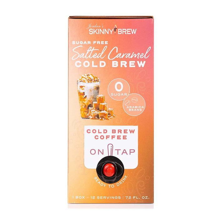 Cold Brew Box - Salted Caramel by Jordan's Skinny Mixes, 72 fl (2129 ml)