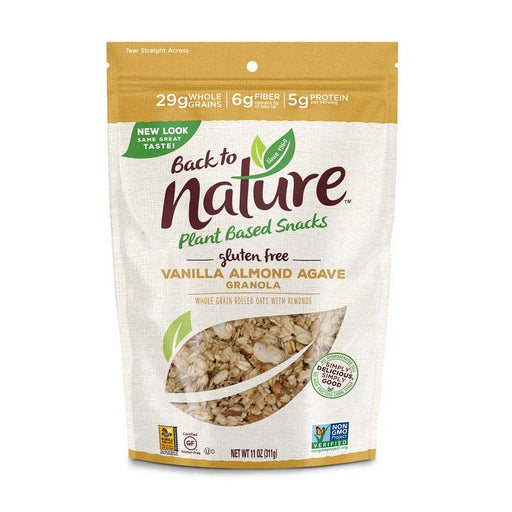 Back to Nature Gluten Free Vanilla Almond Agave Granola, 11 oz (311 g)