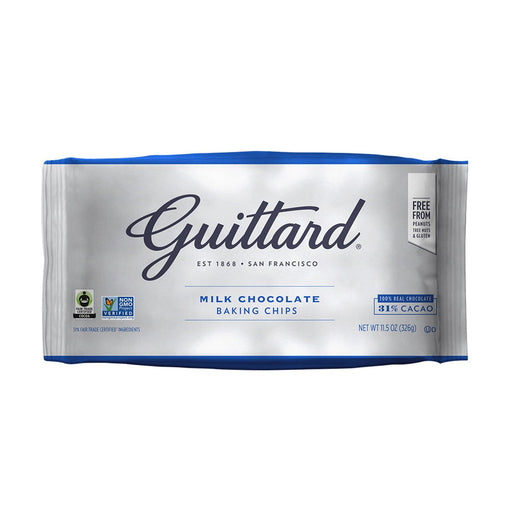 Guittard Milk Chocolate Baking Chips, 11.5 oz (326 g)