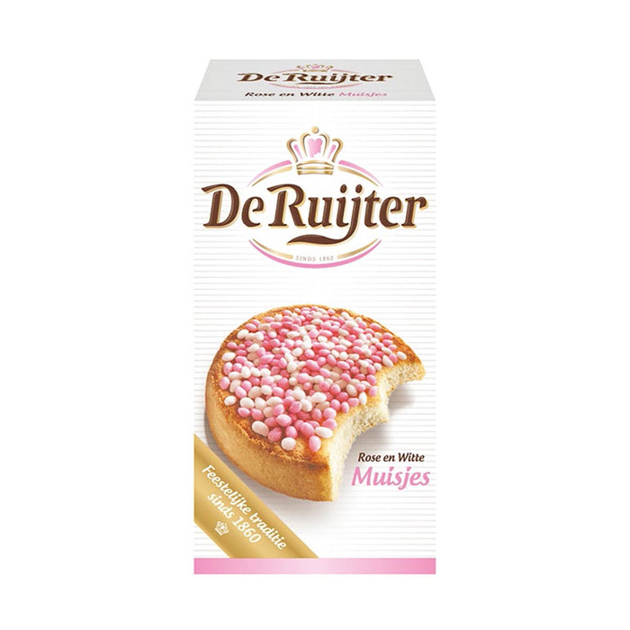 De Ruijter Pink and White Anise Flavored Seed, 9.8 oz (278 g)