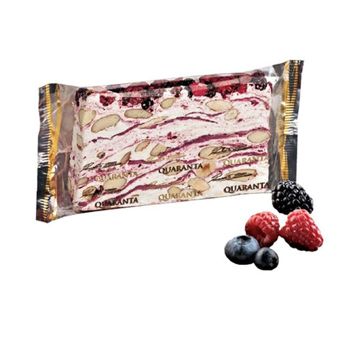 Quaranta Sliced Soft Nougat Mixed Berries, 5.3 oz (150 g)