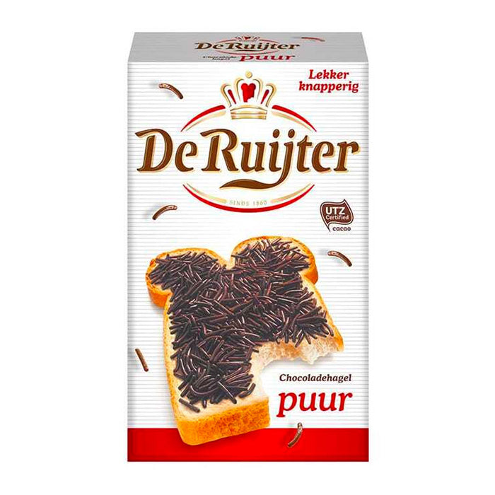 Dark Chocolate Sprinkles by De Ruijter, 13.4 oz. (380 g)