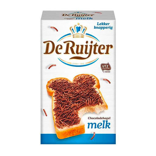 Milk Chocolate Sprinkles by De Ruijter, 13.4 oz. (380 g)