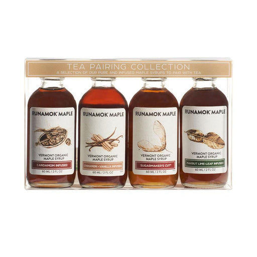 Runamok Maple Organic Tea Maple Syrup Pairing Collections, 2 fl (60 g)