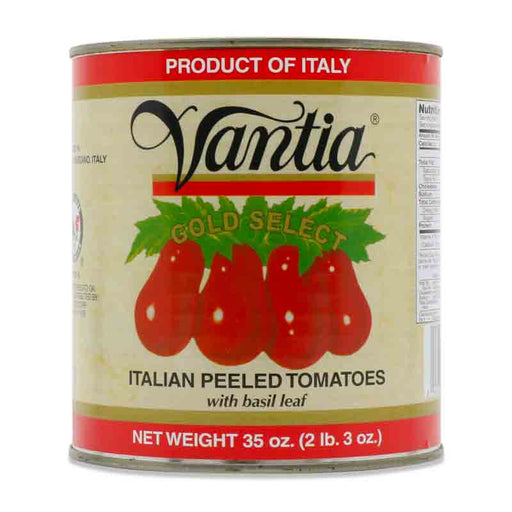 Vantia Gold Select Italian Tomatoes with Basil, 35 oz (992 g)