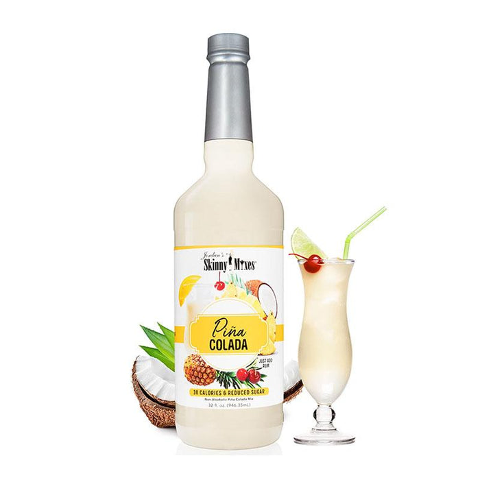 Skinny Pina Colada Mix by Jordan's Skinny Mixes, 32 fl oz (946.35 ml)
