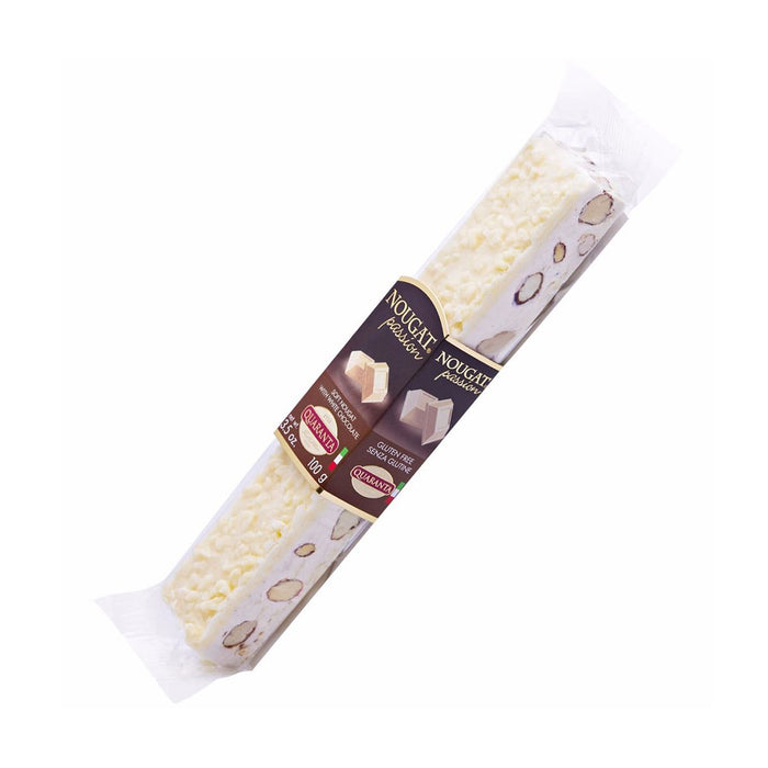 Quaranta Soft Nougat Passion with White Chocolate, 3.5 oz (100 g)