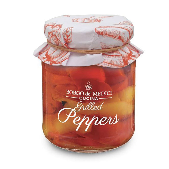 Borgo de Medici Grilled Peppers in Oil, 1.2 lb (280 g)