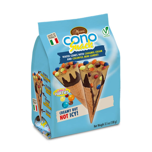 Messori Cono Snack, Choco Parties, 3.5 oz (100 g)